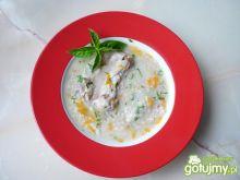 Zupa z kaszą na wieprzowych żeberkach