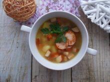Zupa z kiełbasą