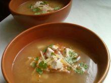Zupa z kiełkami i tofu
