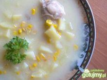 Zupa z kukurydzą i ziemniakami
