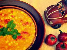 Zupa z kukurydzy i dyni oraz mleczka kokosowego
