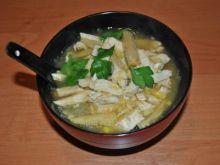 Zupa z Kurczaka z Kukurydzą i Makaronem