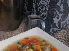 Zupa z makaronem ryżowym