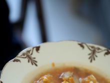 Zupa z mintajem