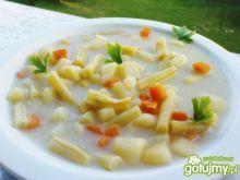Zupa z młodej fasolki szparagowej