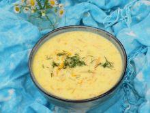 Zupa z młodych ziemniaków z serkiem topionym