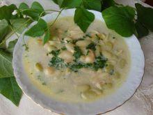 Zupa z mokrej fasoli