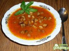 Zupa z papryki i pomidorów
