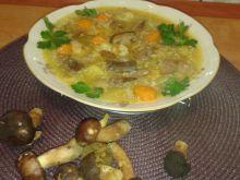 Zupa z podgrzybkami