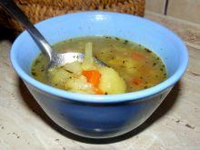 Zupa z podsmażanymi ziemniaczkami