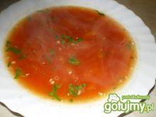 Zupa z pomidorów i papryki