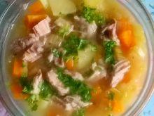 Zupa z pora i marchewki