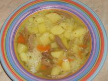 Zupa z ryżem