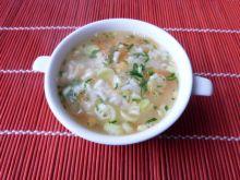 Zupa z ryżem na rosole