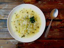Zupa z selera naciowego z ryżem