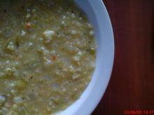 Zupa z soczewicy z aromatem czosnku