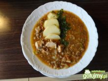Zupa z soczewicy z imbirem