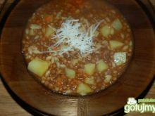 Zupa z soczewicy z ziemniaczkami