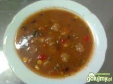 Zupa z sosem meksykańskim