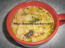 Zupa z suszonymi grzybami