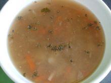 Zupa z szynką i majerankiem