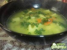 Zupa z zielonego groszku 2