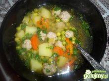 Zupa z zielonego groszku wg Beatris