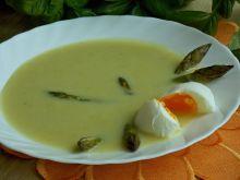 Zupa z zielonych szparagów
