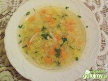 Zupa z żółtej cukini