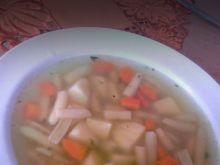 Zupa z żółtej fasolki szparagowej