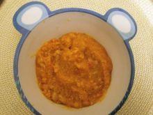 Zupa z żółto-pomarańczowych warzyw dla niemowlaka