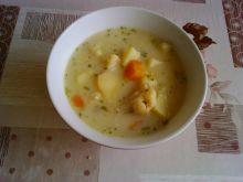 Zupa zabielana kalafiorowa z ziemniakami