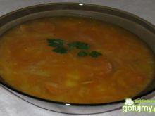 Zupa ze słodką kapustą