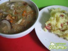 Zupa ze świeżych grzybów mieszanych