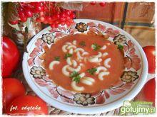 Zupa ze świeżych pomidorów Edyty