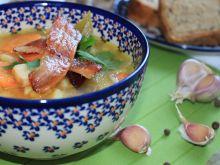 Zupa ziemniaczana na zasmażce