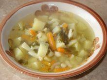 Zupa ziemniaczana na żeberkach
