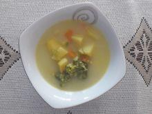 Zupa ziemniaczana z brokułem