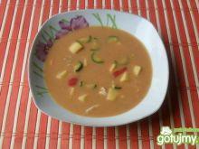 Zupa ziemniaczana z cukinią