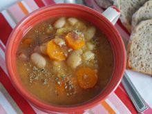 Zupa ziemniaczana z fasolą