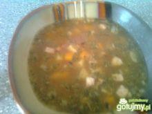 Zupa ziemniaczana  z grzybami