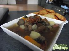 Zupa ziemniaczana z grzybami leśnymi :-)