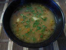 Zupa ziemniaczana z majerankiem