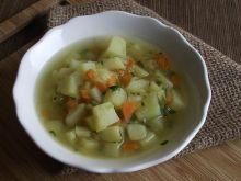Zupa ziemniaczana z ogórkami