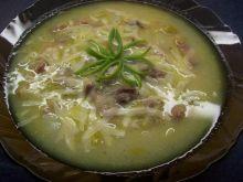 Zupa ziemniaczano – porowa