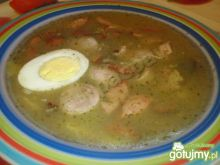 Zupa żurek