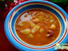 Zupka gulaszowa z ziemniakami