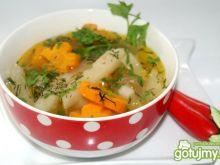 Zupka kalarepkowo-marchewkowa
