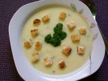 Zupka krem z cukinii z serkiem topionym