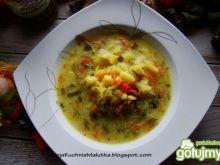 Zupka ogórkowa z kaszka manną